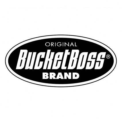 free vector Bucketboss brand