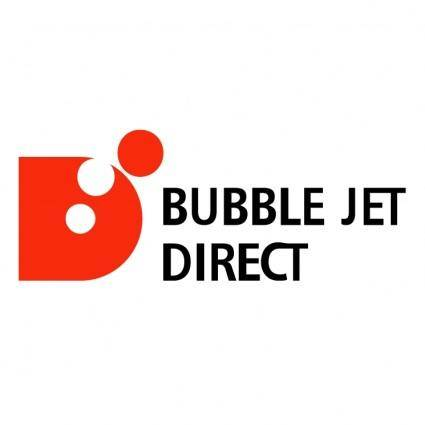 Bubble jet direct