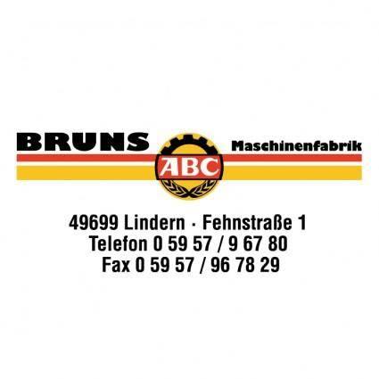 Bruns maschinenfabrik