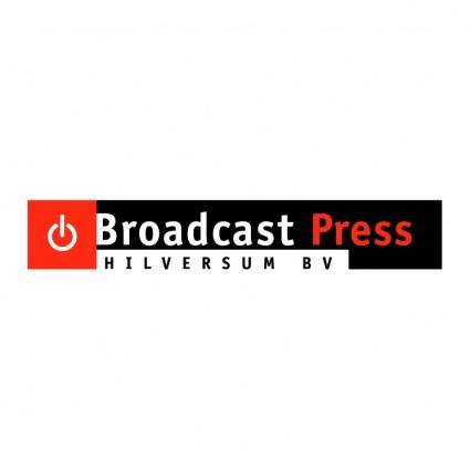 Broadcast press