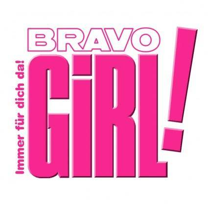 free vector Bravo girl
