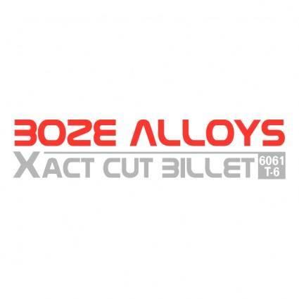 Boze alloys 0