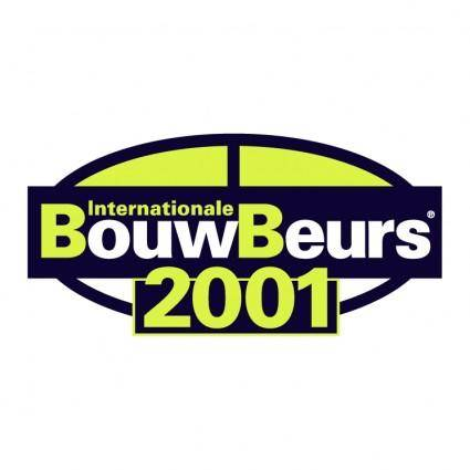 free vector Bouwbeurs 2001