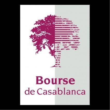 free vector Bourse de casablanca