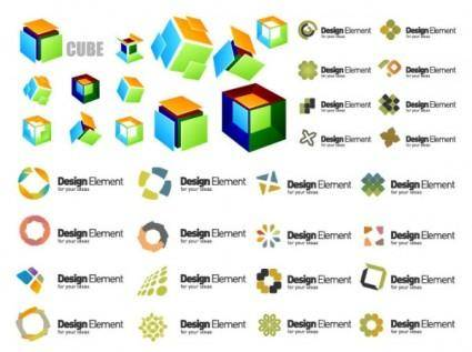 Logo template vector graphic