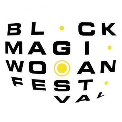 free vector Black magic woman festival