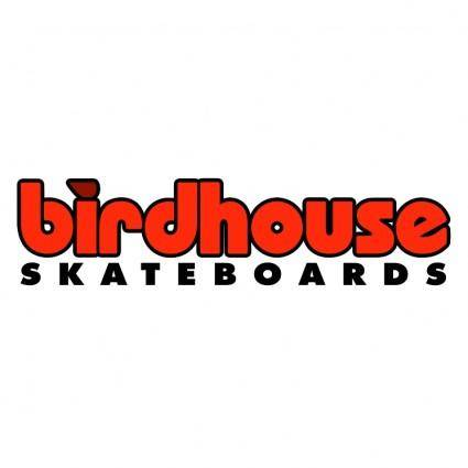 free vector Birdhouse skateboards
