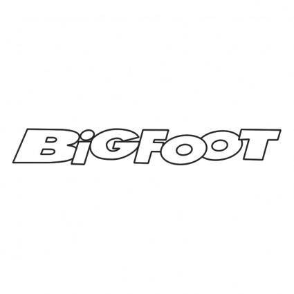 free vector Bigfoot 0