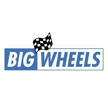 free vector Big wheels