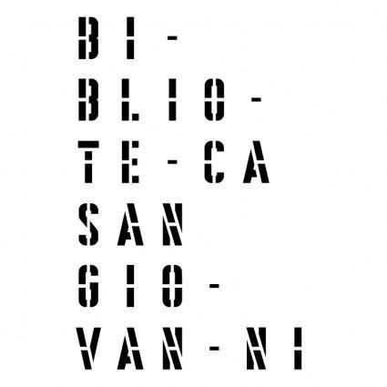 free vector Biblioteca san giovanni pesaro