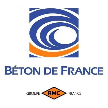 free vector Beton de france