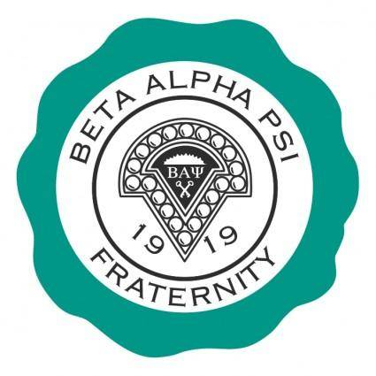 Beta alpha psi fraternity 0