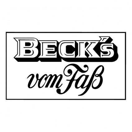 free vector Becks 5