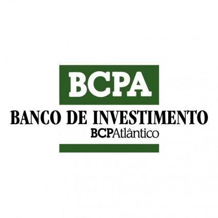 Bcpa banco de investimento