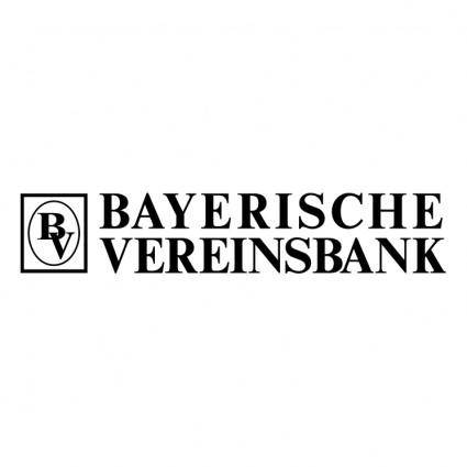 free vector Bayerische vereinsbank
