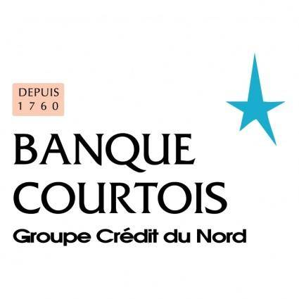 free vector Banque courtois