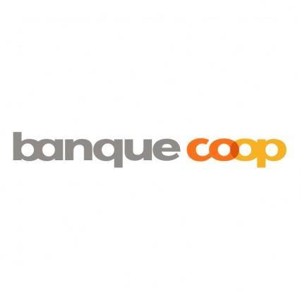 free vector Banque coop
