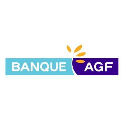 free vector Banque agf
