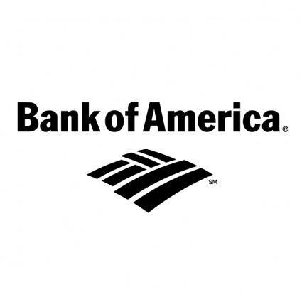 free vector Bank of america 1