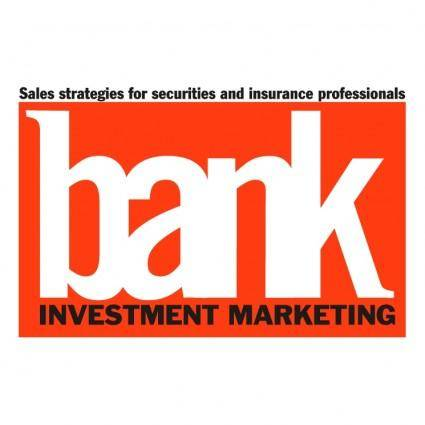 Bank investment marketing