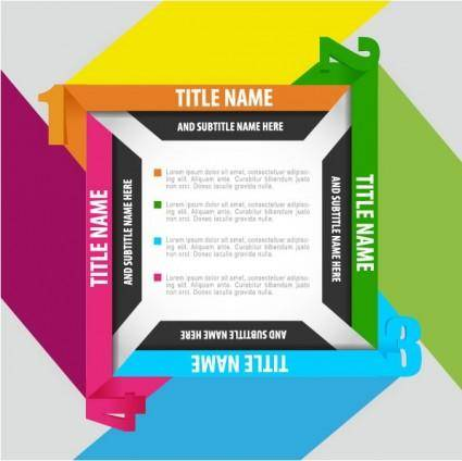 free vector Trend of business cards 04 vector
