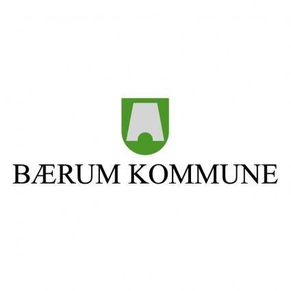 free vector Baerum kommune