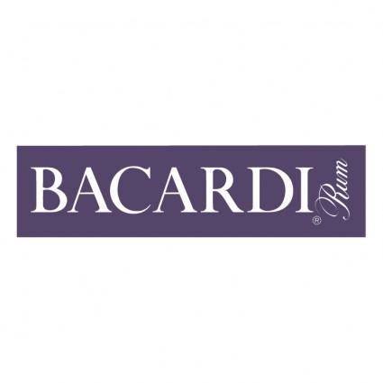 free vector Bacardi rum 1