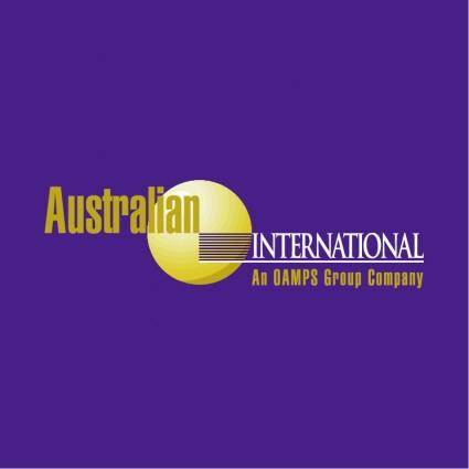 free vector Australian international insurance