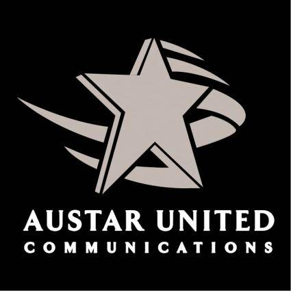 free vector Austar united communications