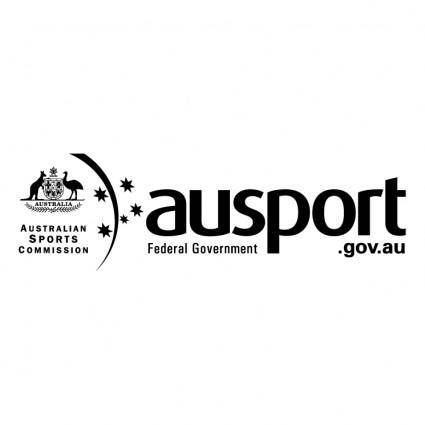 free vector Ausport federal government