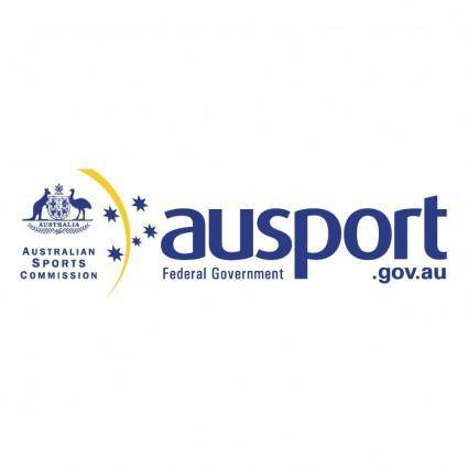 free vector Ausport federal government 0
