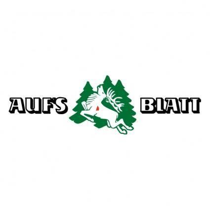 free vector Aufs blatt