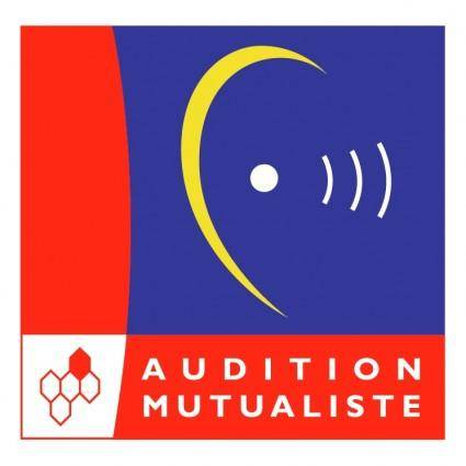 free vector Audition mutualiste