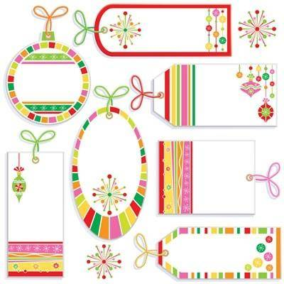 free vector Cute label tag vector