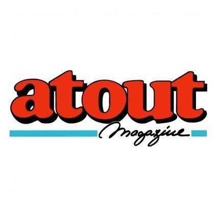 free vector Atout magazine