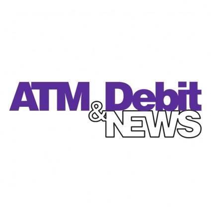 free vector Atm debit news