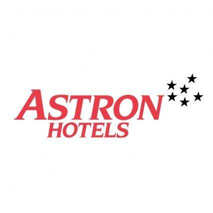 free vector Astron hotels