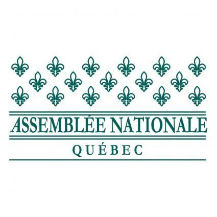 free vector Assemblee nationale quebec