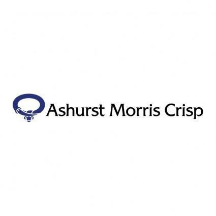 Ashurst morris crisp