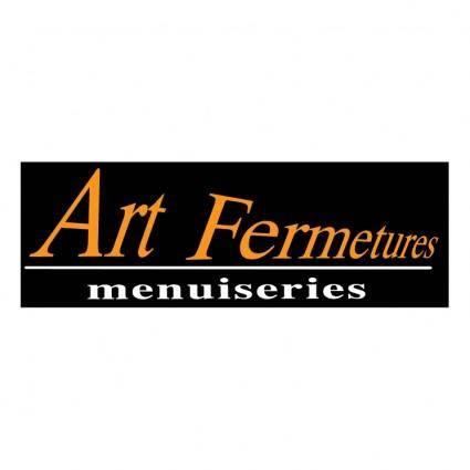 free vector Art fermetures