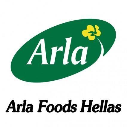 free vector Arla foods hellas