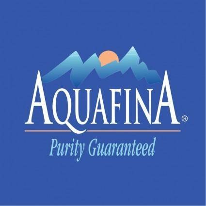 free vector Aquafina