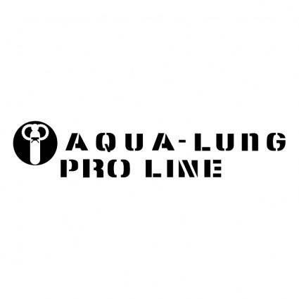 Aqua lung pro line