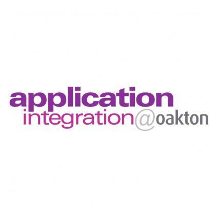 Application integrationoakton
