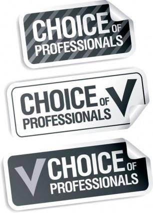 free vector Vector stickers 1