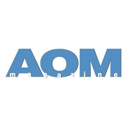 free vector Aom magazine