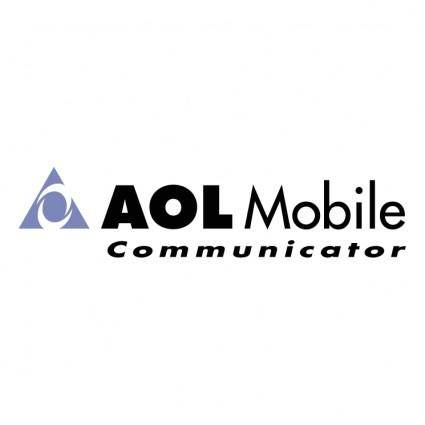 free vector Aol mobile communicator