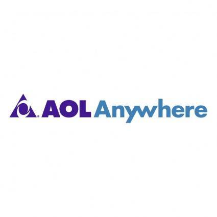 free vector Aol anywhere