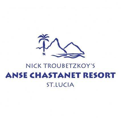 free vector Anse chastanet resort