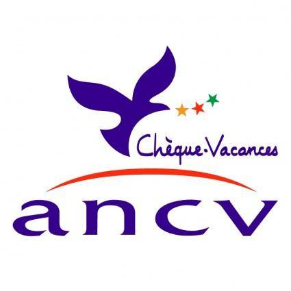 free vector Ancv cheque vacances